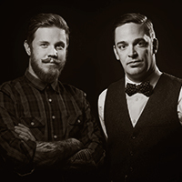 Matthew Delaney and Shooter McNally