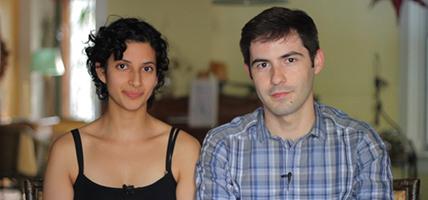Anita Abbasi and Martin Baena