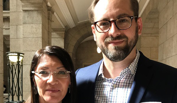 Lisa Meeches, Kyle Irving / Link to PDF doc with nomination info