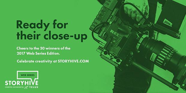 STORYHIVE web series 2017 / Link to STORYHIVE
