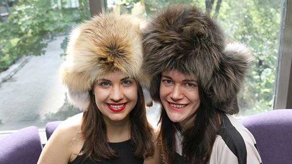 Natalie Novak and Leah Cameron / Link to Comedy Pro