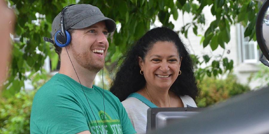 Christopher Redmond and Hoda Elatawi