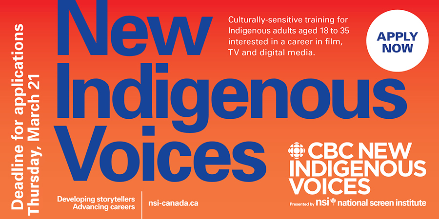 Link to CBC New Indigenous Voices presented by NSI