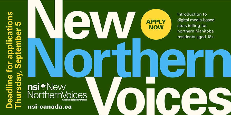 NSI New Northern Voices DEADLINE EXTENDED