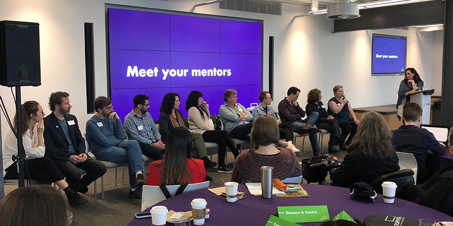 STORYHIVE mentors