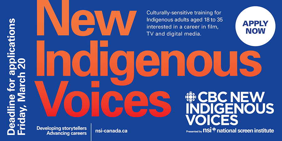 Apply to CBC New Indigenous Voices
